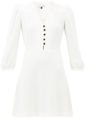 Bella Freud Sundown Crepe Dress - Womens - Ivory