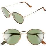Ray-Ban Men's 50Mm Retro Sunglasses - Gold/ Camo Fabric/ Green