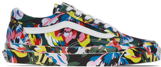 Kenzo Multicolor Vans Edition OG Old Skool LX Sneakers