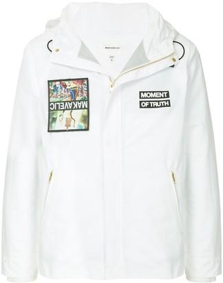 Makavelic Jesus mountain parka jacket