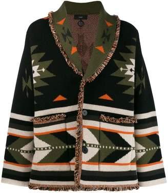 Alanui patterned cardi-coat