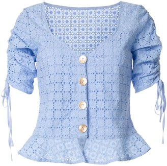 We Are Kindred Vienna crochet blouse
