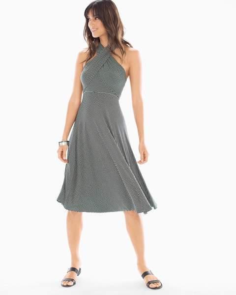 Soma Intimates 8 Way Stripe Convertible Dress