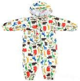 ishowstore Unisex kids one piece Funny Cartoon Printed rainsuit raincoat waterproof coverall