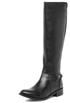 Dorothy Perkins Black leather riding boots