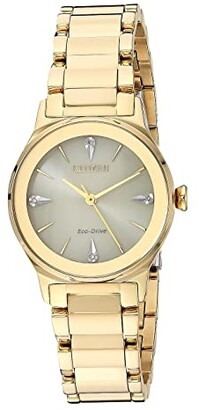 Citizen EM0732-51P Axiom (Gold Tone) Watches