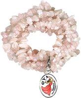 My Altar Oya Orisha for Blessings of Change Quartz Gem Wrap Bracelet