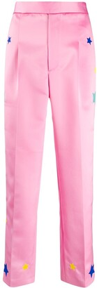 Mira Mikati Star Embroidered Trousers