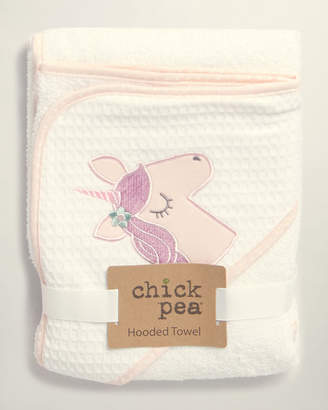 Baby Essentials Chick Pea (Newborn Girls) Unicorn Hooded Towel