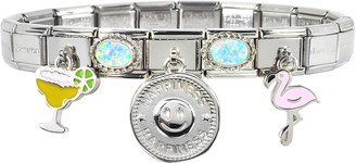 Nomination Happiness Sterling Silver & Stainless Steel Bracelet