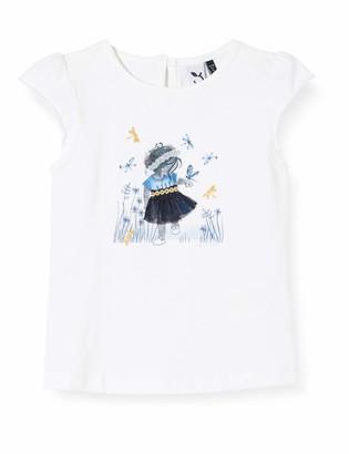 3 Pommes Baby Girls' 3q10172 Tee Shirt Mc T