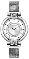 Thumbnail for your product : Versus By Versace Versus Women's Silver Lake Silver-Tone Stainless Steel Mesh Watch 36mm