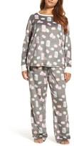 PJ Salvage Plus Size Women's Polar Fleece Pajamas