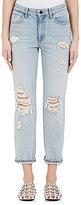 Denim x Alexander Wang Women's Cult Straight Crop Jeans