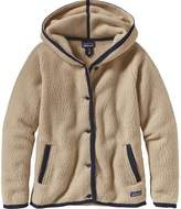 Patagonia Shearling Hooded Fleece Cardigan - Women's