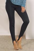 Women Denim Lean Line Stirrup Pants