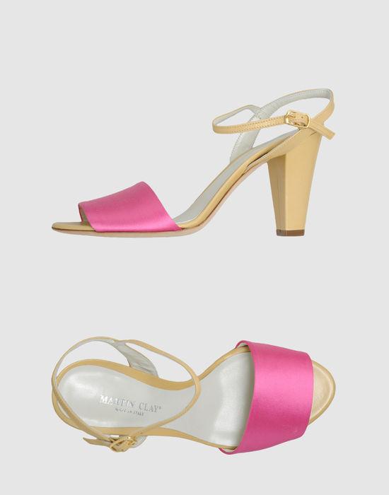 Martin Clay High-heeled sandals