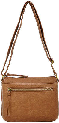 ST. JOHN'S BAY Triple Zip Crossbody Bag