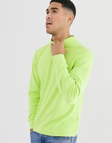 Another Influence high neck long sleeve top