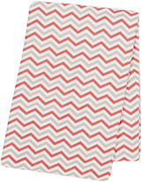 TREND LAB, LLC Trend Lab Chevron Swaddle Blanket - Coral and Gray