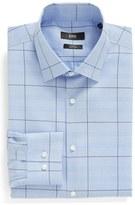 BOSS WW Slim Fit Easy Iron Check Dress Shirt