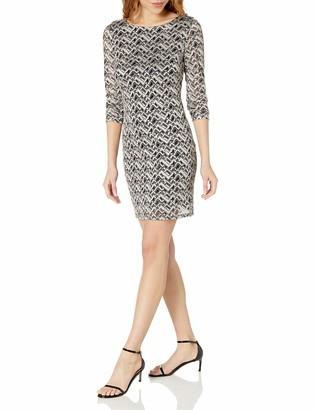 Jessica Howard JessicaHoward Women's Longsleeve Shift Dress