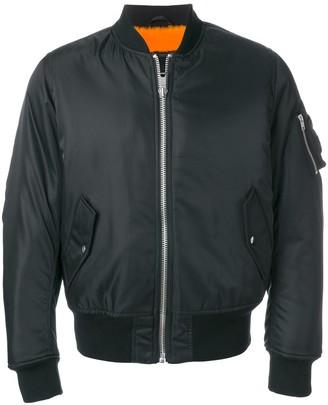 Calvin Klein Classic Zipped Bomber Jacket
