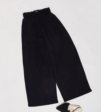 Asos Tall ASOS DESIGN Tall culotte pant with shirred waist