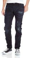 G Star Men's Arc 3D Slim Fit Jean In Black Hydrite Denim