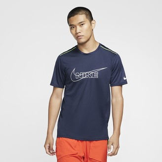 Nike Men's Short-Sleeve Running Top Breathe