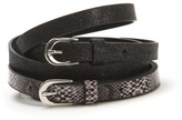 Anne Weyburn Pack of 2 Belts