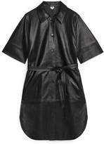 Arket Leather Dress