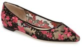 Jimmy Choo Women's Romy Embroidered Floral Flat