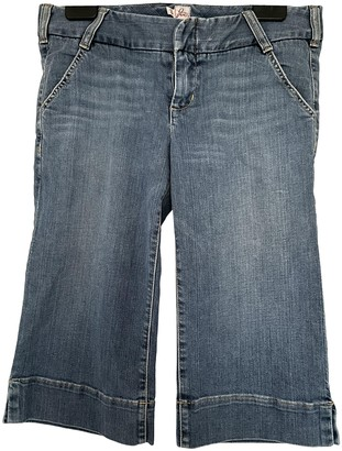 Joie Blue Cotton - elasthane Jeans for Women