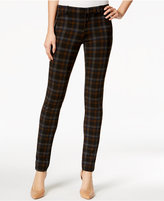 KUT from the Kloth Diana Plaid Skinny Jeans