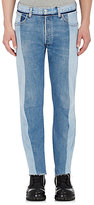 Vetements Men's Paneled Re-Worked Jeans-BLUE