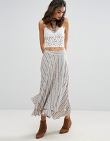 Free People Skirts For You Side Slit Skirt