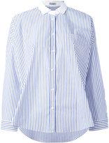 Brunello Cucinelli striped shirt - women - Cotton/Spandex/Elastane - M