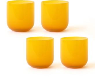 Jonathan Adler Yellow Pop Rocks Glass Bundle