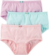 Carter's Little Girls' 3-pack Panties (Toddler/Kid) (2-3T, )
