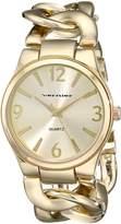Vernier Women's VNR11081YG Classic Fashion Bracelet Quartz Watch