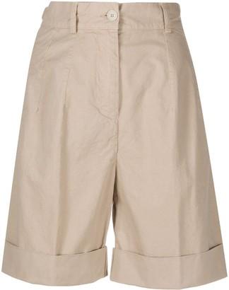 Aspesi pleated Bermuda shorts
