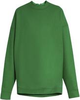 Marques Almeida MARQUES'ALMEIDA Oversized wool-blend sweatshirt