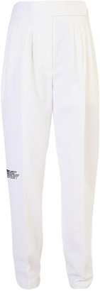 Burberry Logo Print Pants