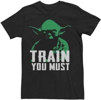 "Star Wars Men's Yoda ""Train You Must"" Graphic Tee"