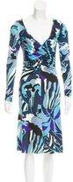 Emilio Pucci Abstract Midi Dress