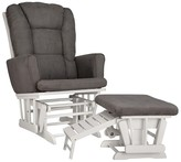 Graco Sterling Semi-Upholstered Glider and Nursing Ottoman