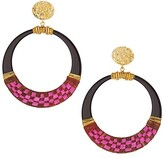 Thumbnail for your product : Gas Bijoux Lodge 24K Goldplated Hoop Earrings