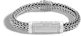 John Hardy Men's Classic Chain 11MM ID Bracelet in Sterling Silver with Diamonds