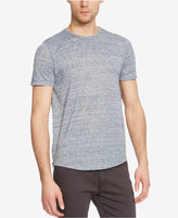 Kenneth Cole New York Men's Jaspe Slub Side-Zip T-Shirt